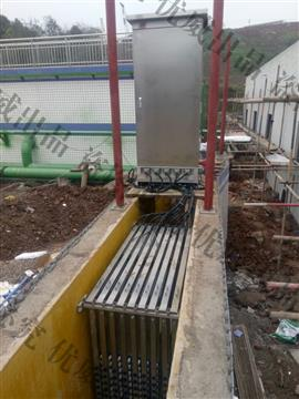 明渠案例-重庆市江津区污水处理厂
